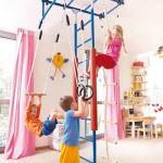 Детские домашние спортивные комплексы