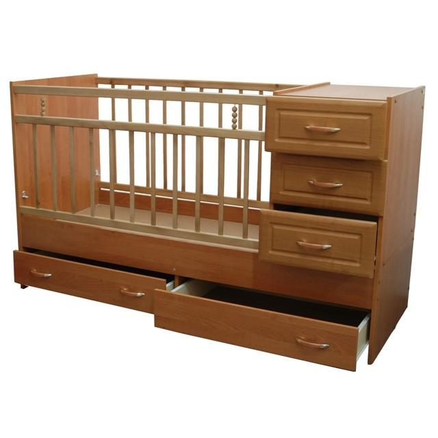 Кроватка-трансформер Раиса