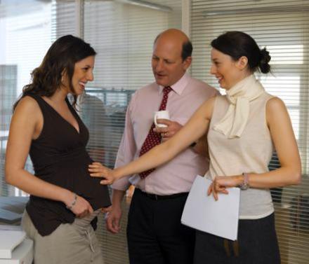 Как сказать начальнику о беременности фразы
