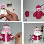 Как в домашних условиях сделать новогоднюю игрушку своими руками