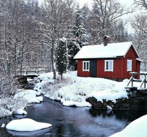 Зимой в Финляндию