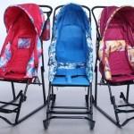 Санки-коляска для малышей — восемь наилучших моделей для зимы 2014-2015