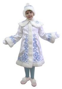 Новогодний костюм снегурочки для дочки своими руками - выкройки платья Снегурочки