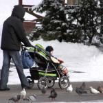 Детские коляски зима