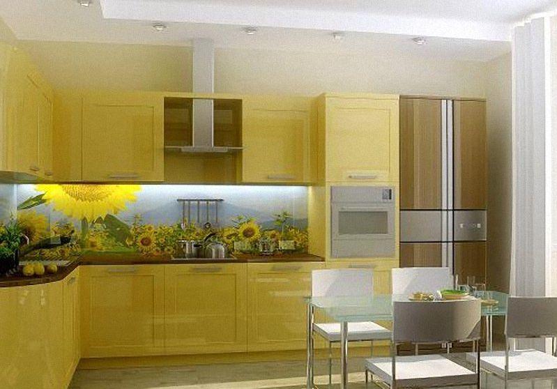 Дизайн кухонных фартуков
