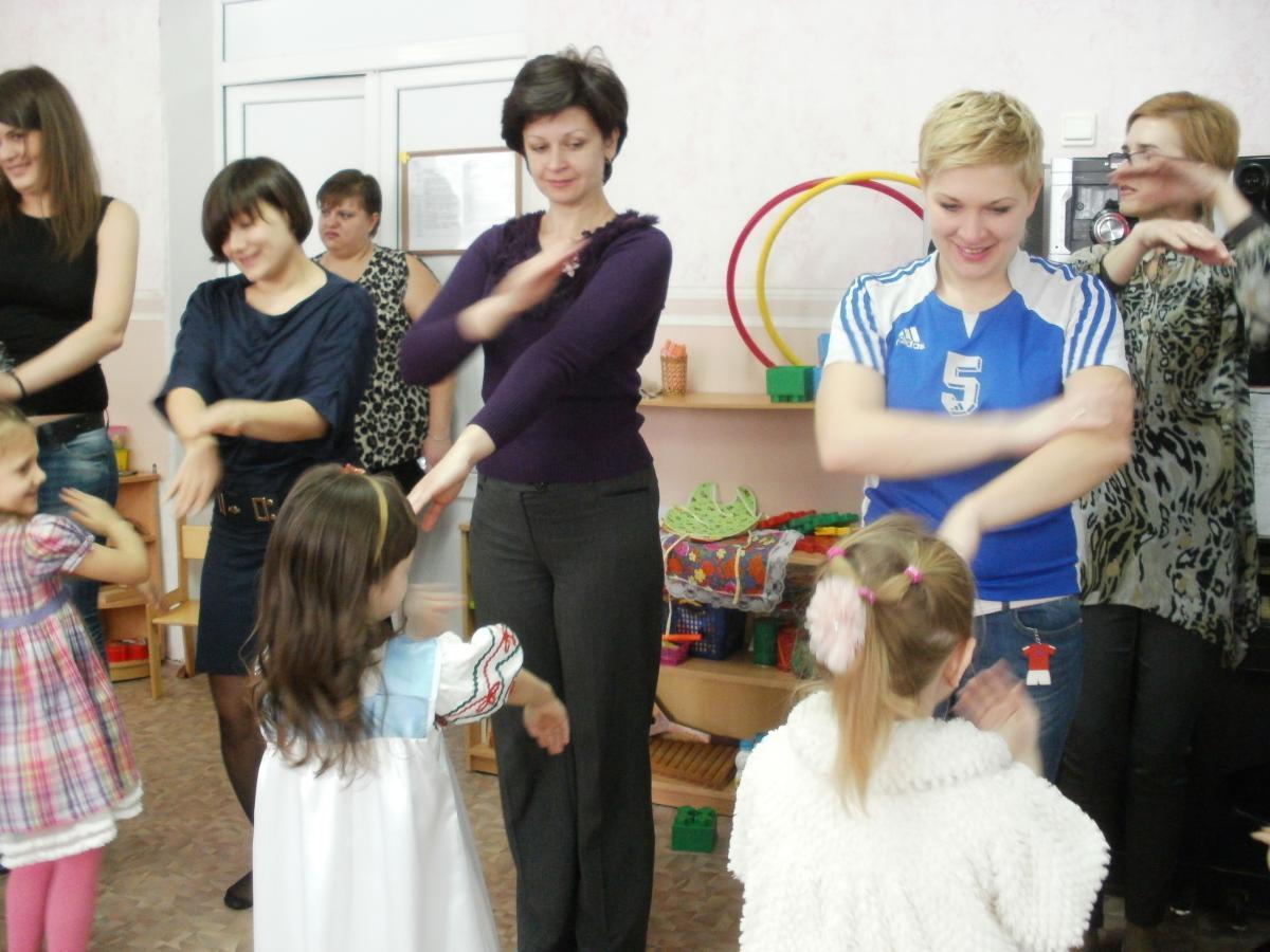 Конкурсы для четырех человек и детей