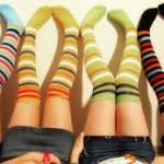 Какие носки должны быть в гардеробе каждой женщины? Как правильно носить носки?
