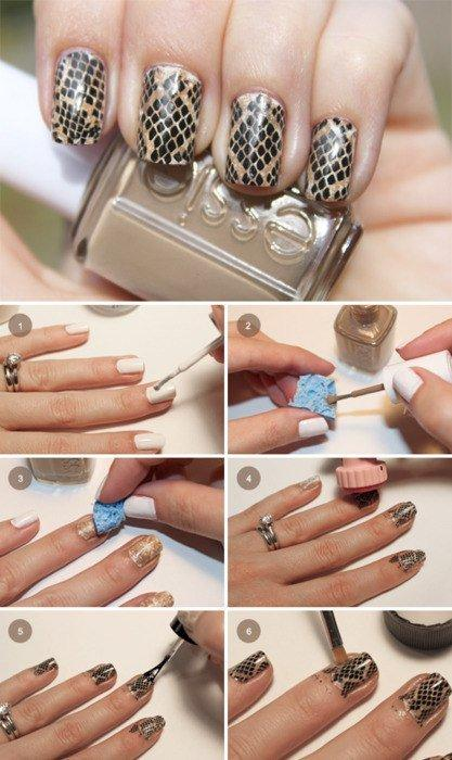 Маникюр на коротких ногтях - инструкция