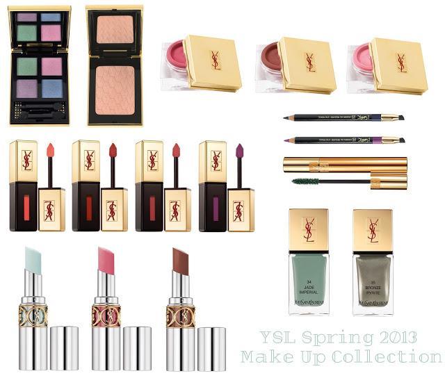Весенние коллекции макияжа 2013 - Ив Сен Лоран