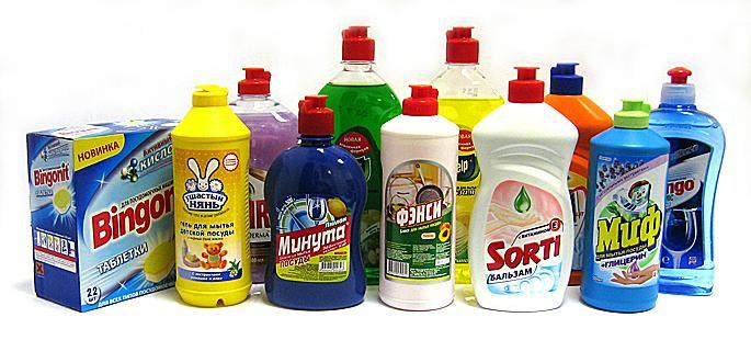 Покупайте моющие и чистящие средства с удовольствием