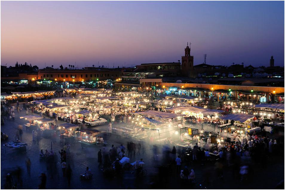 Марокко в апреле - погода