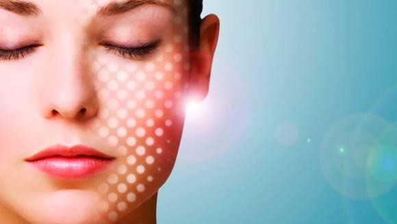 После лазерного пилинга на коже лица