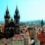 Прага в апреле - погода