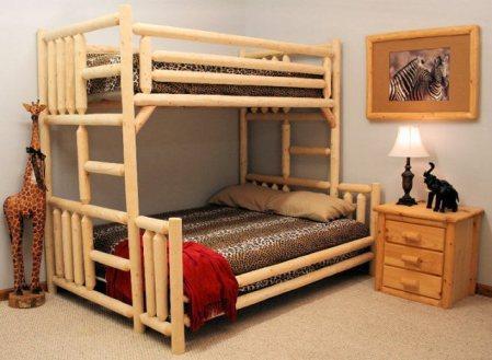 "Кровать детская двухъярусная ""Дуэт 4"" - цены снижены | 2х ярусная детская кровать купить в СПБ"