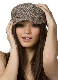 Модные женские шапки весна 2013