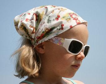 Какими бывают детские летние шапочки