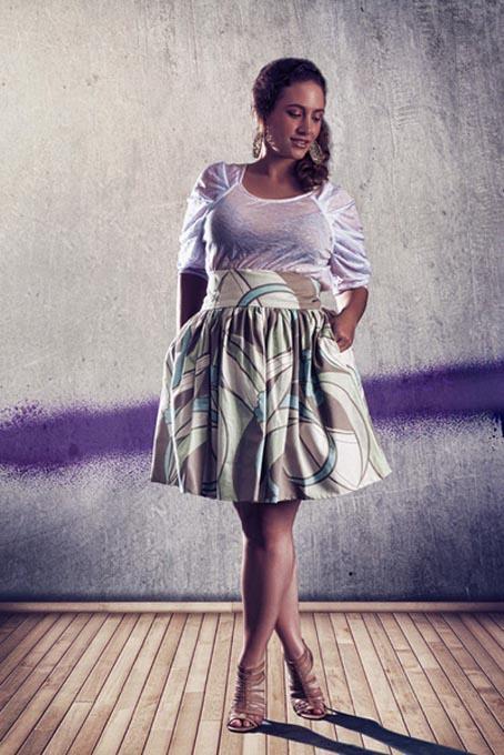 Какие юбки подходят полным девушкам