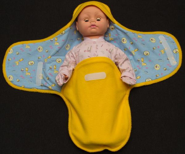 Как сшить пеленку для новорожденных своими руками