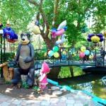Детский отдых в Евпатории в 2013 году - парк развлечений имени Фрунзе