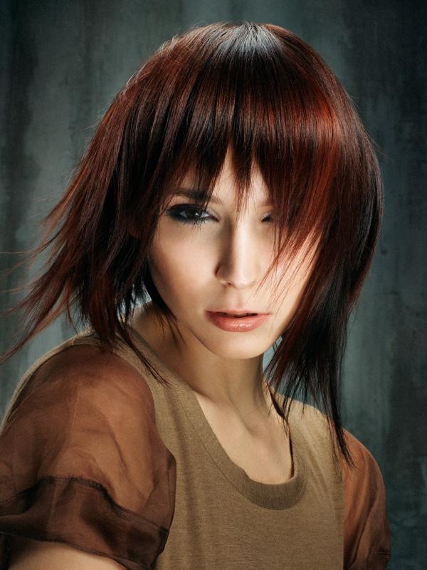 Модные в 2013 году стрижки на длинных волосах