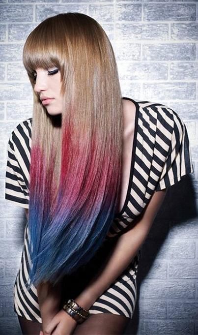 Модное окрашивание волос в 2013 году