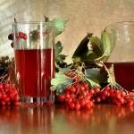 Лучшие народные способы лечения мигрени - сок калины