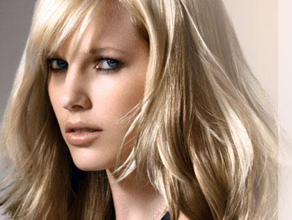Модные волосы 2013 - блонд