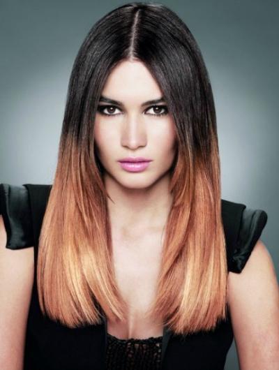 Модное окрашивание волос 2013 — фото