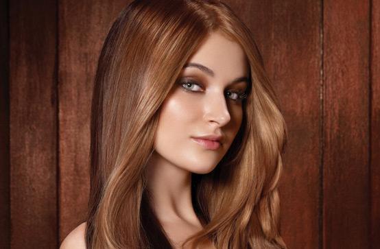 Модные волосы 2013 - шоколад