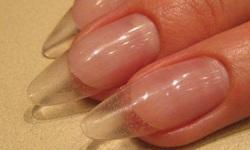 Как делать акрилом ногти