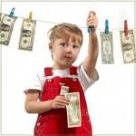 Как давать карманные деньги детям