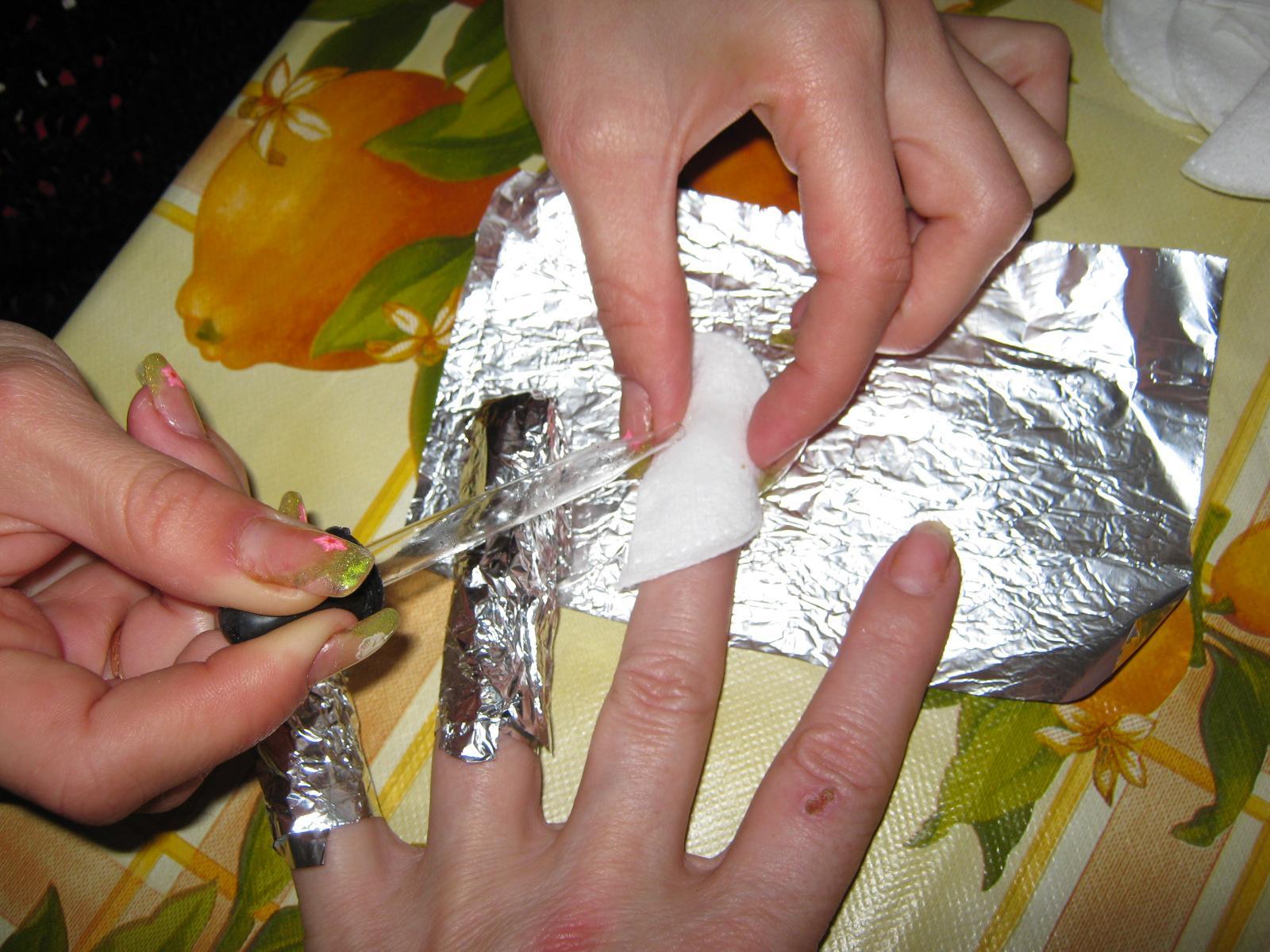 Фото нарощенных ногтей в домашних условиях