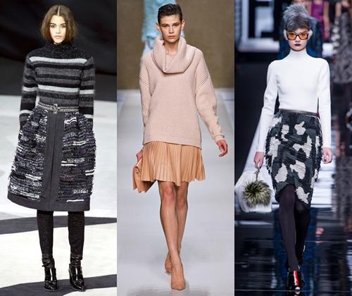 Короткие юбки 2013 на осень