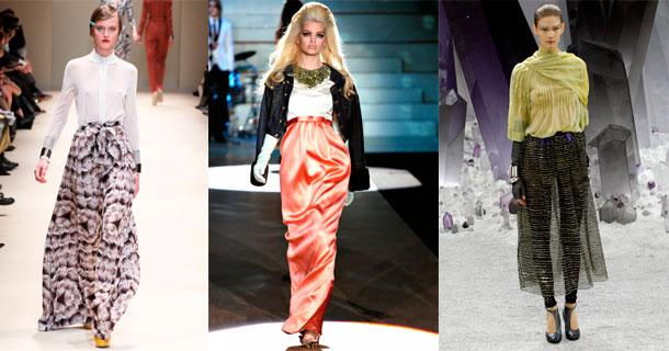 Модные юбки 2013 - фото