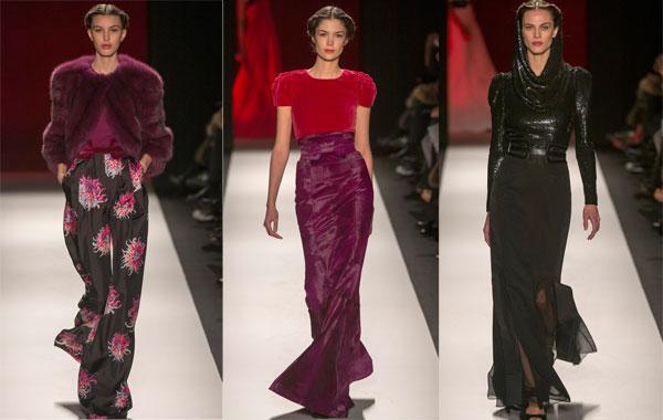 Модные длинные юбки 2013 - фото