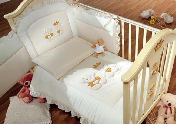 Белье для новорожденного: как украсить детскую 18