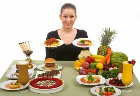 меню рациона питания для похудения