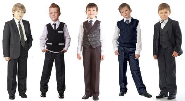 Одежда на 1 сентября для мальчиков - галстуки