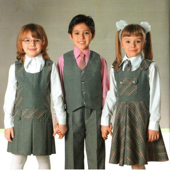 Одежда на 1 сентября для школьников