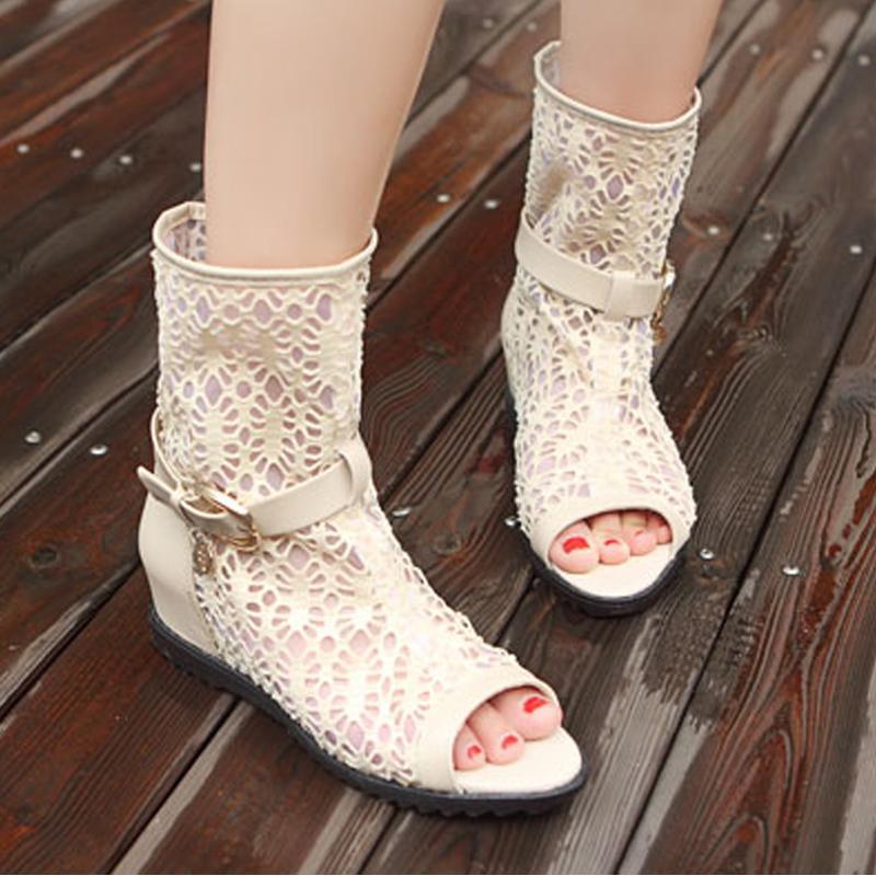 Модные туфли без каблука на лето-осень  2013 - Короткие сапожки