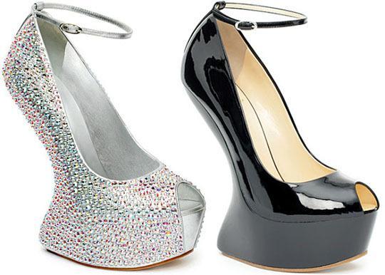 Модные туфли без каблука на лето-осень  2013 - Туфли на платформе