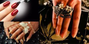 Красивый маникюр осень 2013 – модный дизайн ногтей на осень