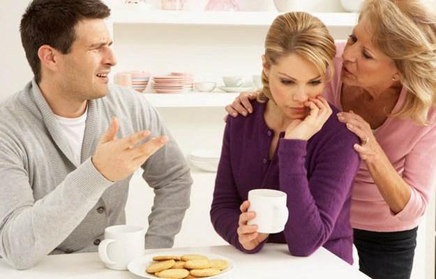 Отношения невестки со свекровью