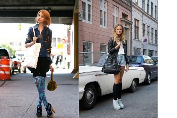 Женские модные колготки на осень-зиму 2013-2014