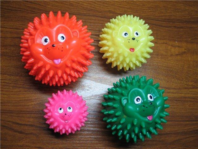 Массажные мячи для детей