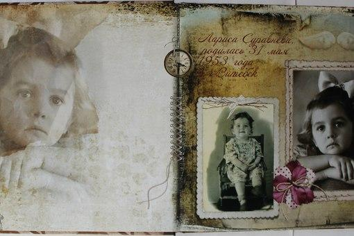 Семейный альбом в подарок родителям
