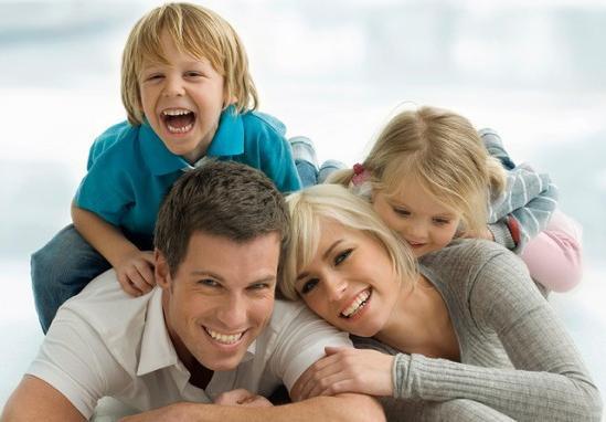 Сколько иметь детей в семье - семья с двумя детьми