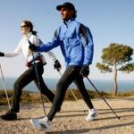 Скандинавская ходьба с палками – польза, противопоказания; ходьба с палками — видео