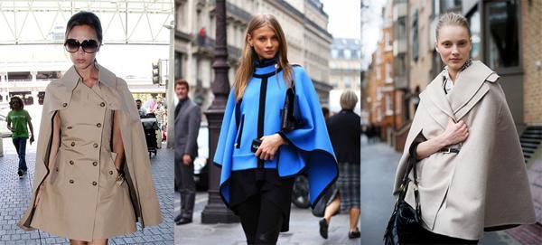Стильное пальто кейп 2013 – фото, модные рекомендации