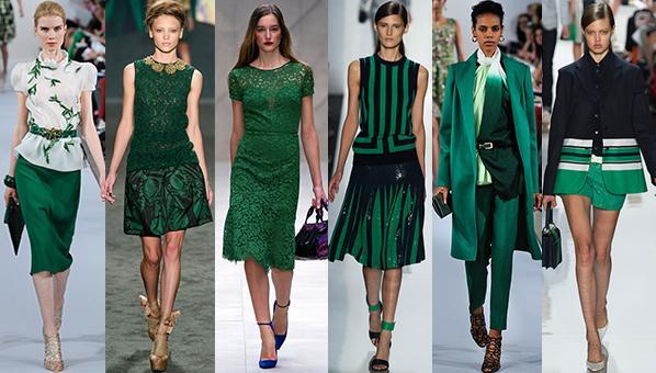 Модные цвета зимой 2013-2014